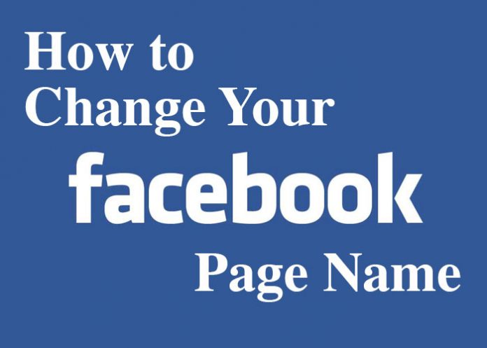 Facebook Page Name