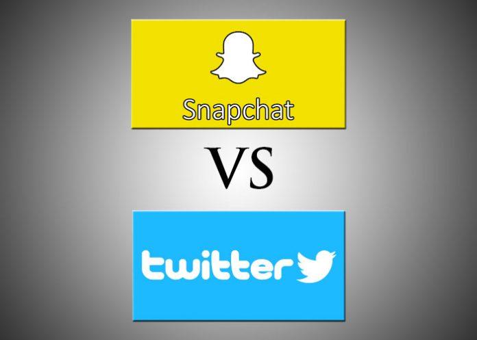 Snapchat VS Twitter
